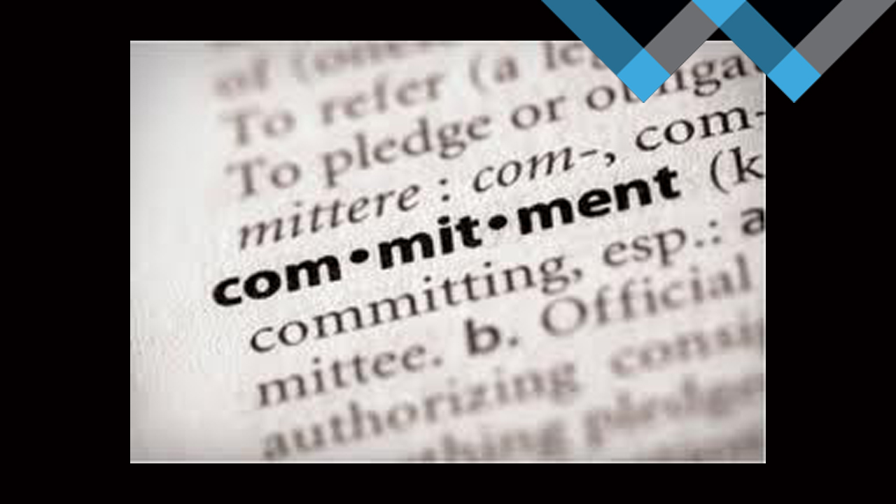 Are you committed or are you dabbling?