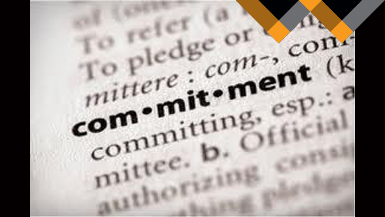 How Can You Be Accountable if You are Not Committed?
