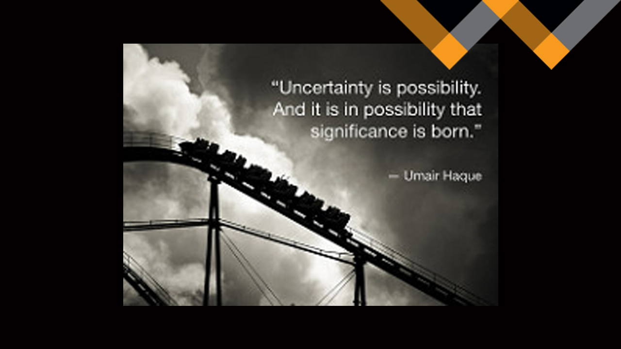 The Possibility in Uncertainty