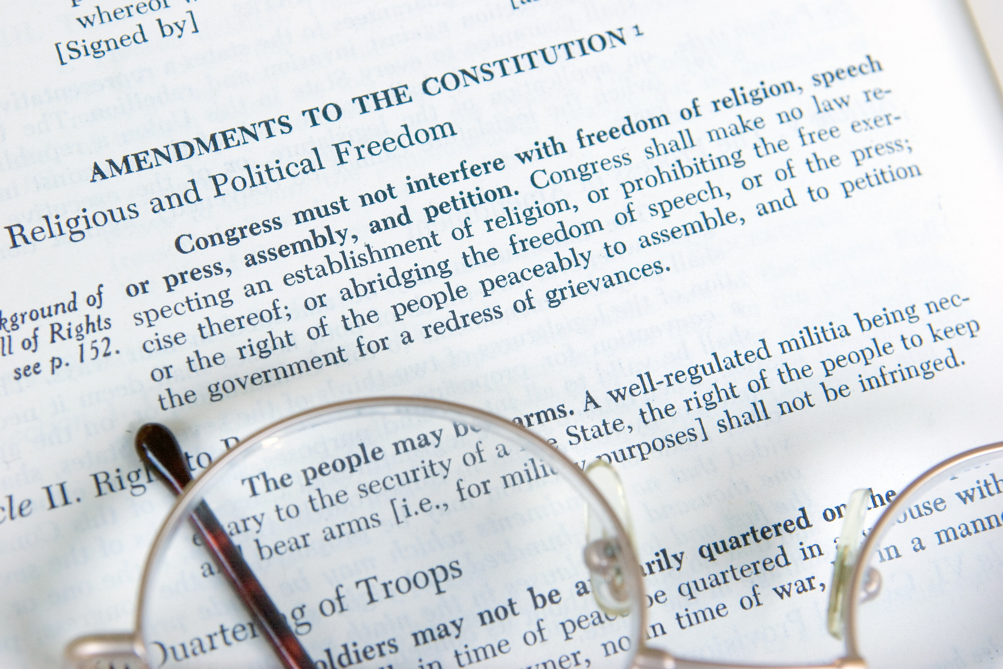 Perfectly Imperfect: Our First Amendment