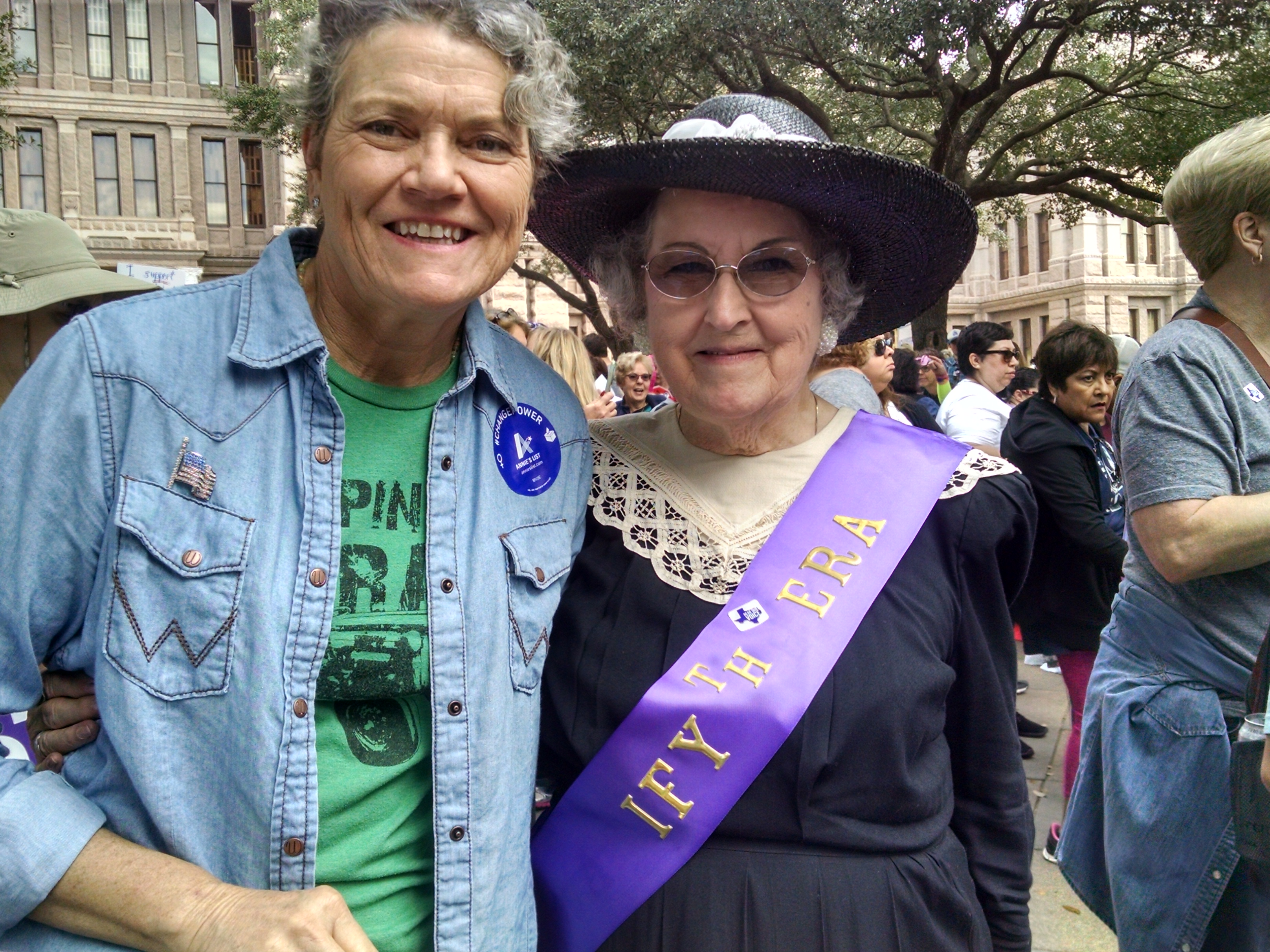By-Oh-Diverse-ity (and Adventures at the Women's March in Austin)