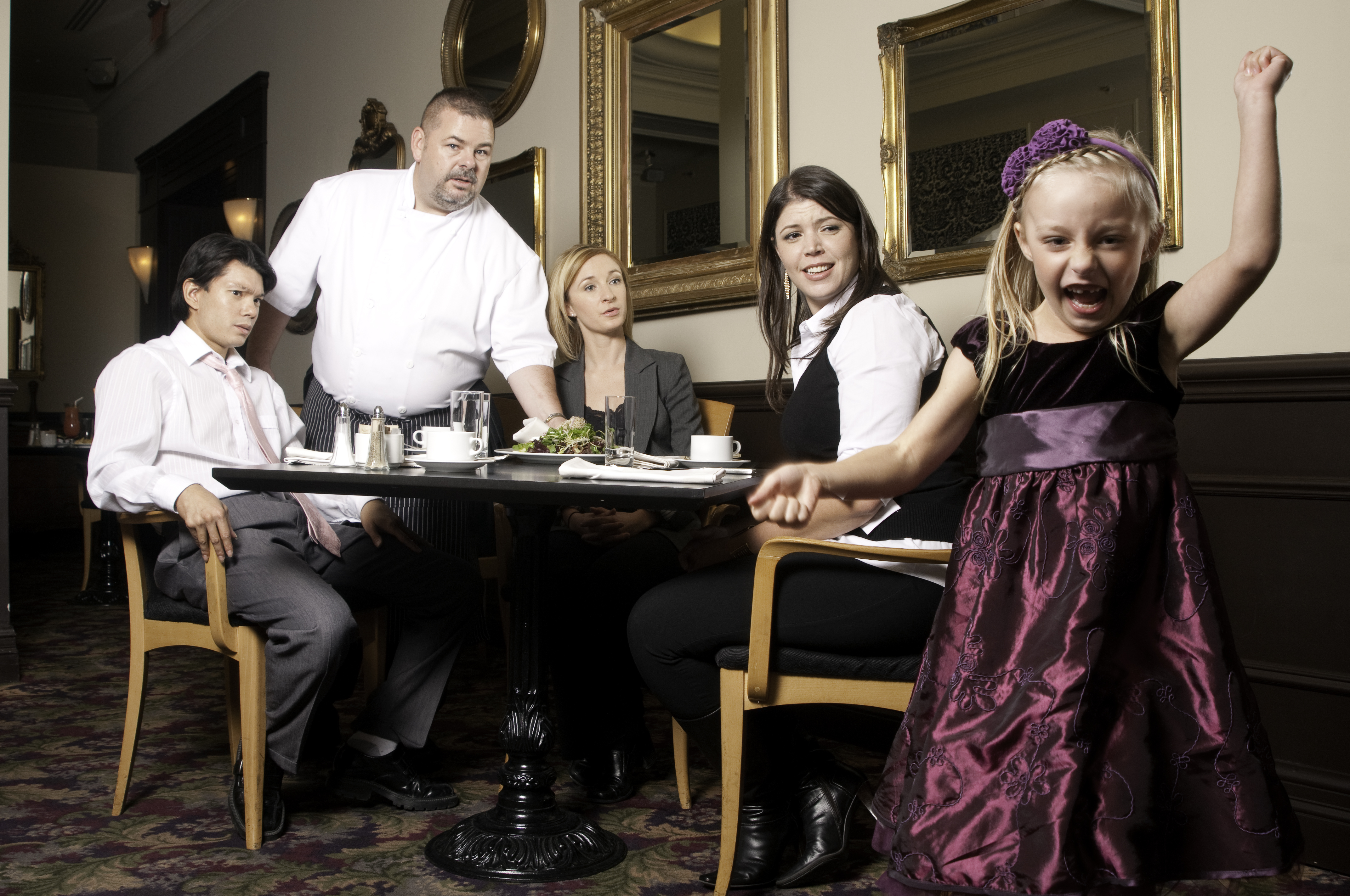 Ask Ms. Plaid: Frustrated with Unruly Children While Dining