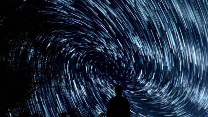 stress swirling stars