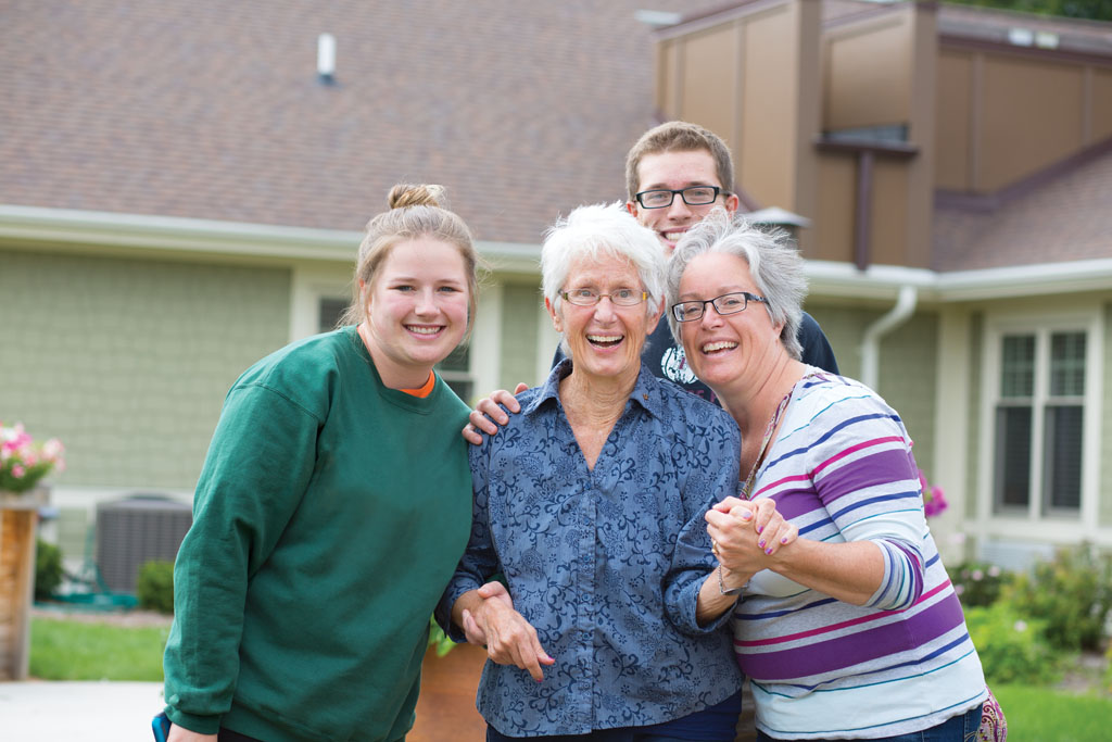 Sharing the Story of Families with Alzheimer's