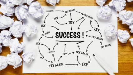 Success Concept flowchart