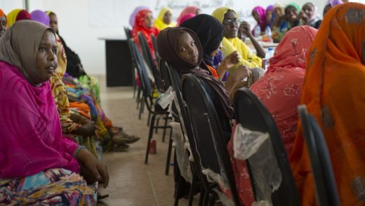 Thirty-four Djiboutian women attended the women's health seminar to learn about being healthy during pregnancy.