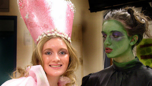 Glinda the Good Witch of the South & Elphaba the Wicked Witch of the West