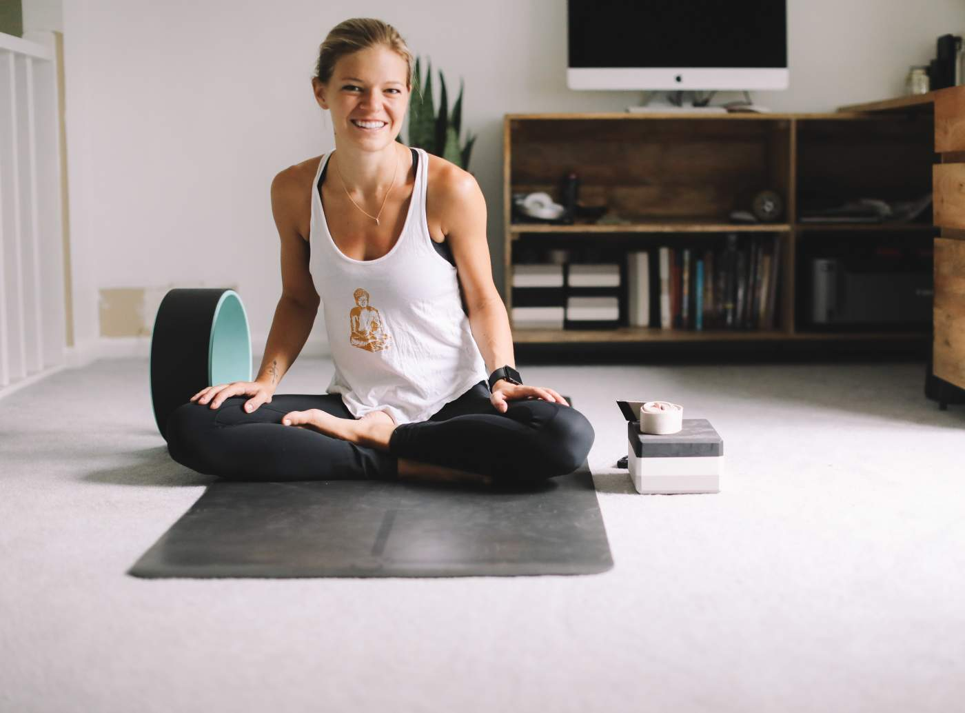 How to Create a Home Yoga or  Meditation Studio:  An Interview with a Yoga Teacher