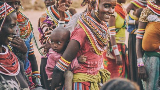 African tribal women