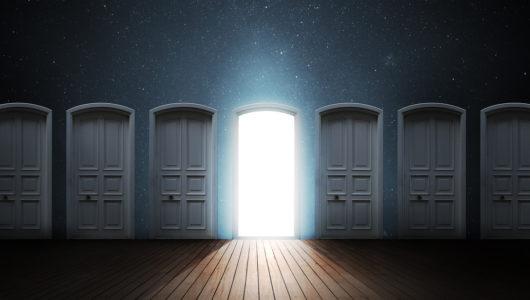 Door opened light.