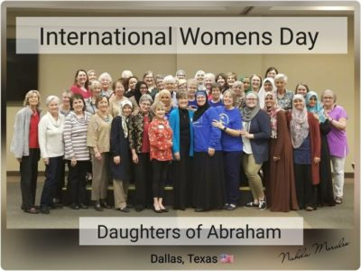 Daughters of Abraham International Women's Day