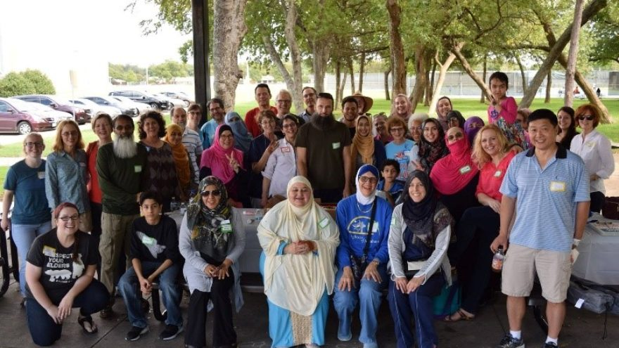 group picture of religiously diverse people