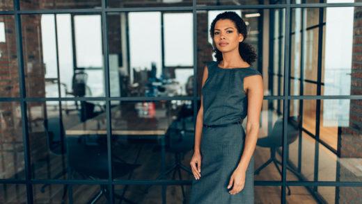 Portrait of a modern businesswoman