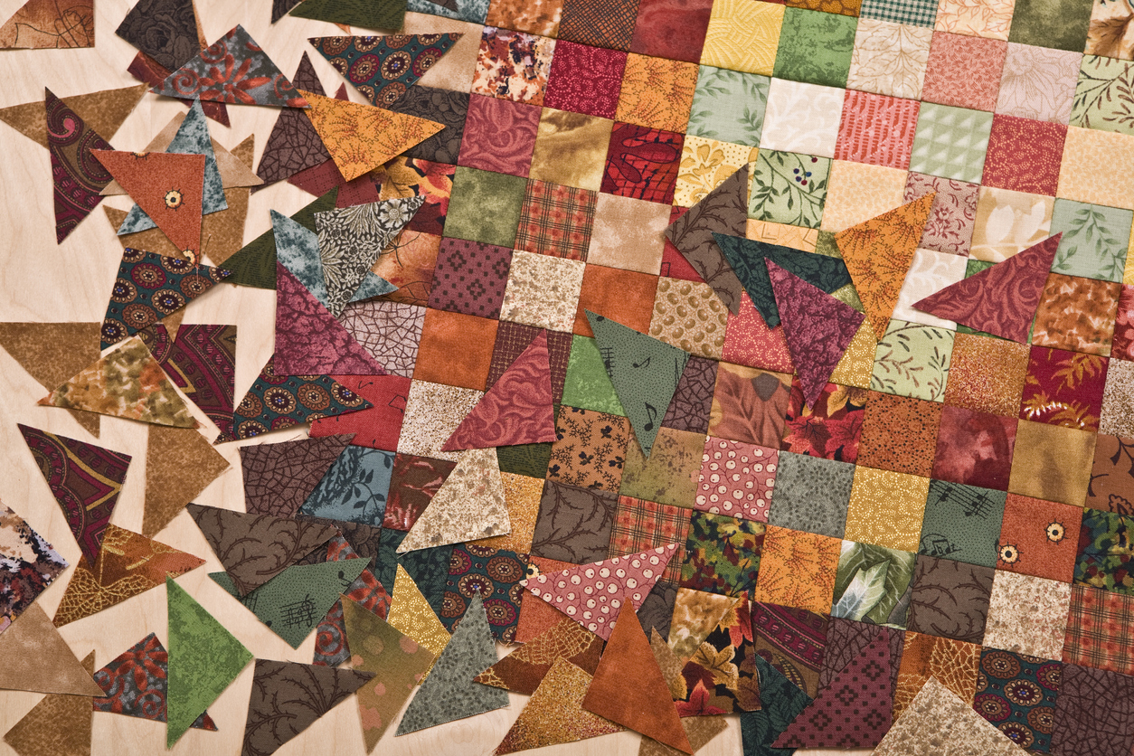 Patchwork of Life: Beauty from Ashes